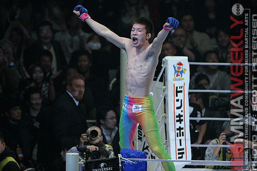 Shinya Aoki at Pride Shockwave 2006