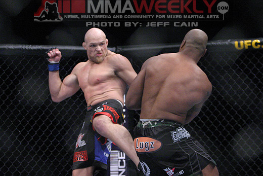 Keith Jardine and Quiton Jackson at UFC 96