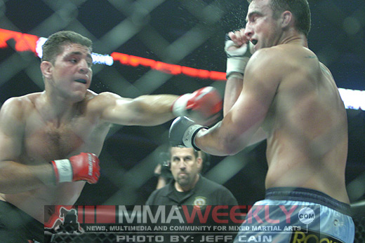 Nick Diaz and Scott Smith at Strikeforce