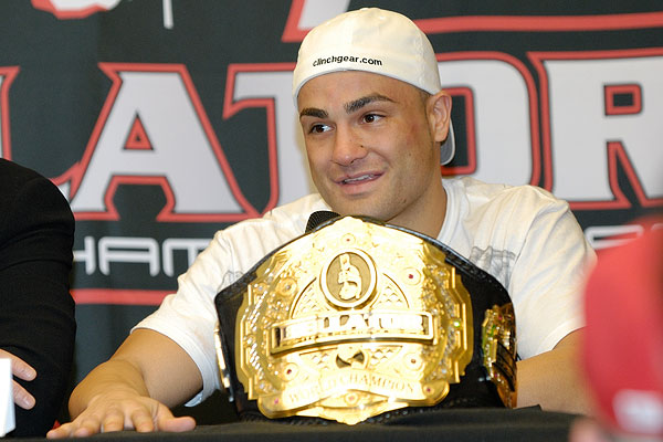 Eddie Alvarez at Bellator 33