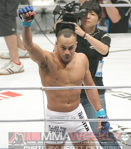 Eddie Alvarez at Dream 3 in Japan