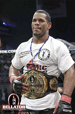 Bellator middleweight champion Hector Lombard