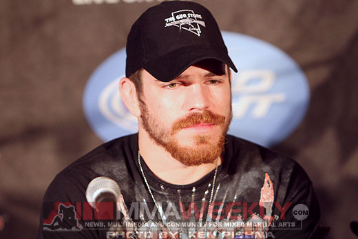 Jim Miller at the UFC 124 Post-Fight Press Conference