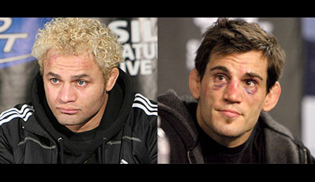 Josh Koscheck and Jon Fitch UFC