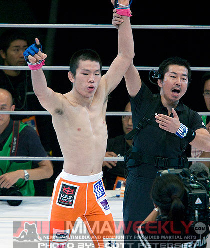 Shinya Aoki at Dream 6