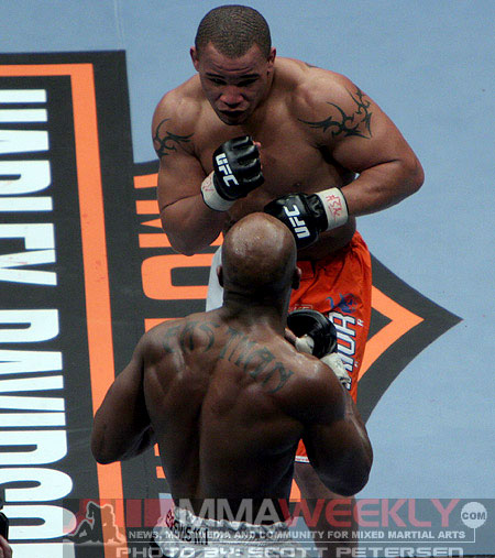 Terry Martin and Marvin Eastman at UFC 81
