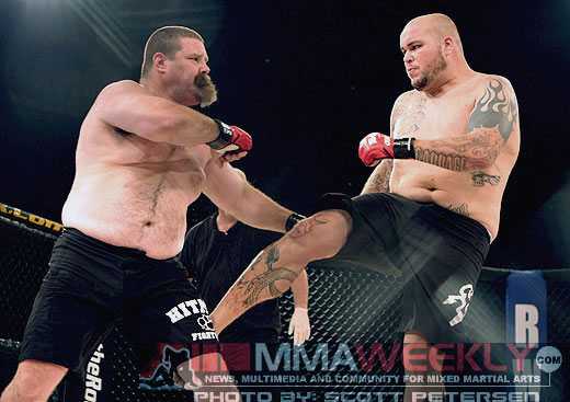 Tank Abbott vs. Cabbage Correira at Rumble on the Rock 7