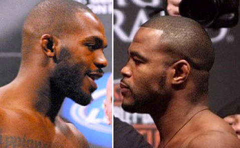 Jon Jones and Rashad Evans