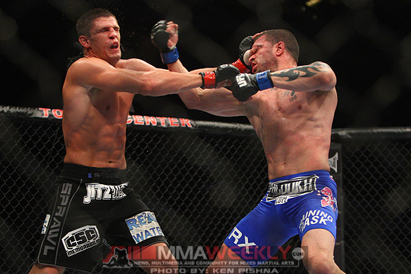 Steve Cantwell and Massenzio at UFC 136