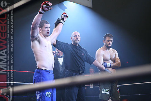 Aaron Stark victory at the IFL in 2006