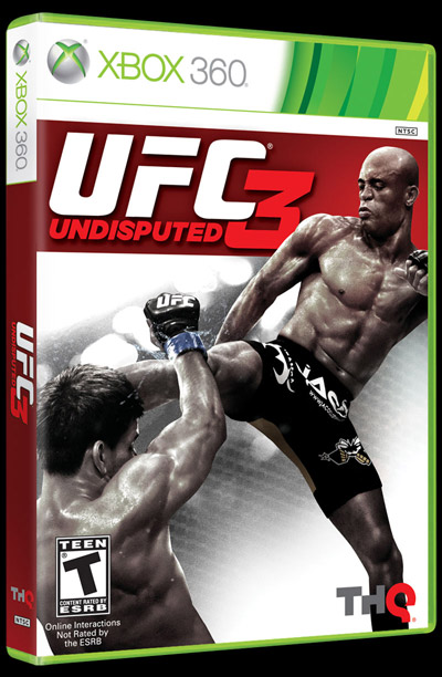 UFC Undisputed 3 cover Anderson Silva