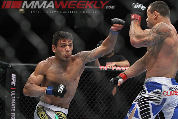 Gleison Tibau and Rafael Dos Anjos at UFC 139