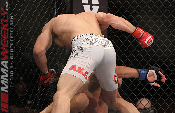 Luke Rockhold vs Keith Jardine at Strikeforce