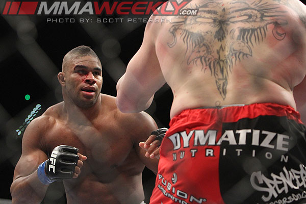 Alistair Overeem at UFC 141
