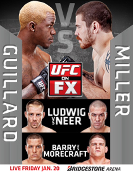 UFC on FX 1 poster