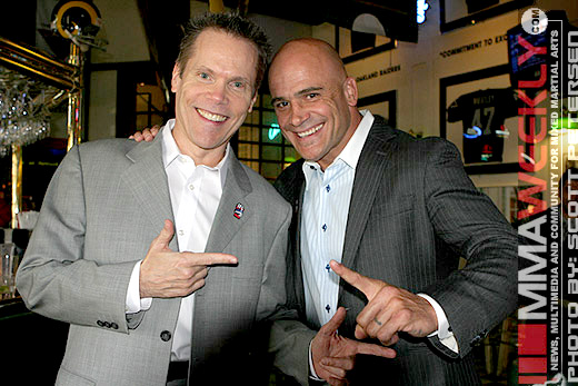 Stephen Quadros and Bas Rutten