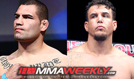 Cain Velasquez and Frank Mir