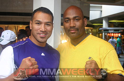 Ray Sefo and Maurice Smith