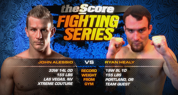 Score Fighting John Alessio vs Ryan Healy