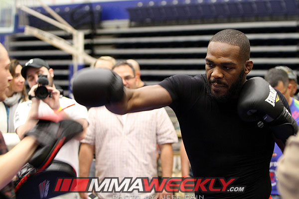 Jon Jones UFC 145 Workouts