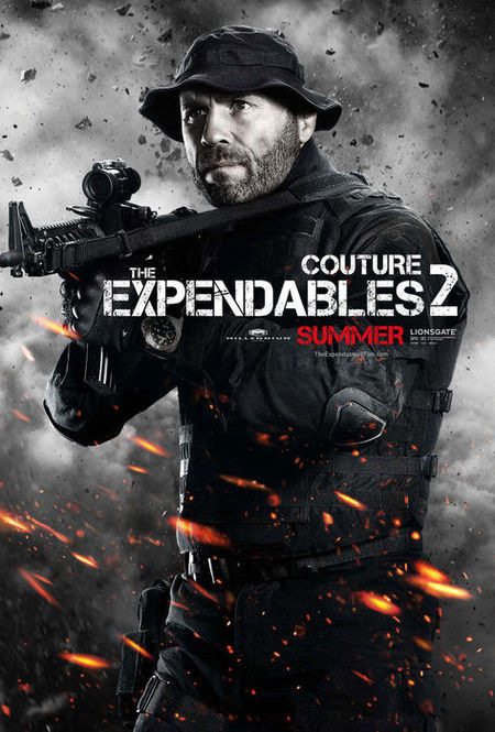 Expendables 2 Randy Couture Poster
