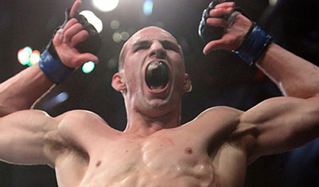 Rory McDonald at UFC 129