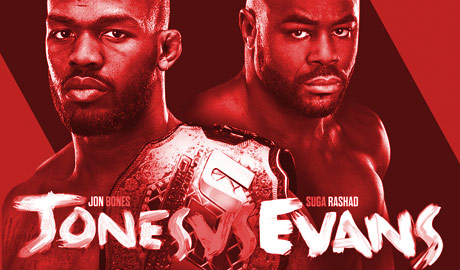UFC 145 Poster Red