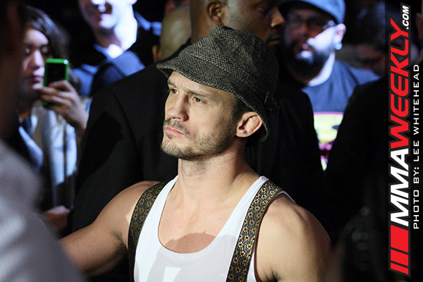 Brad Pickett at UFC 138