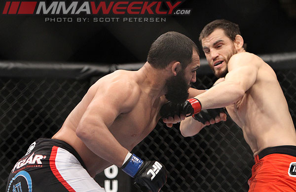 Johny Hendricks vs Jon Fitch at UFC 141