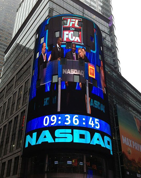 UFC on Fox at NASDAQ