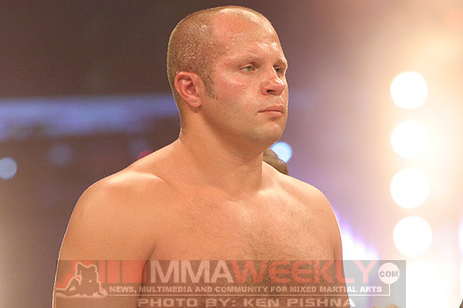 Fedor Emelianenko at Affliction Banned