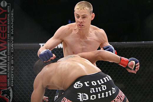 Duane 'Bang' Ludwig and Tyson Griffin at Strikeforce
