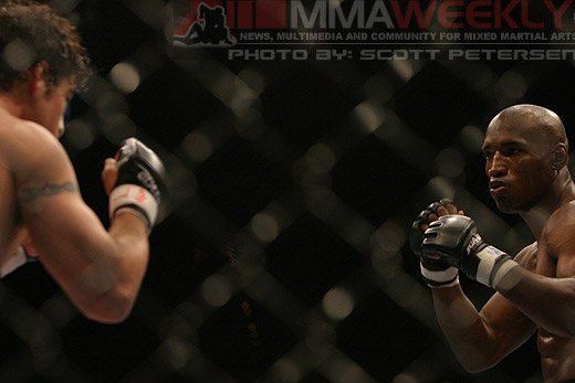 Diego Sanchez and Brian Gassaway at UFC 54