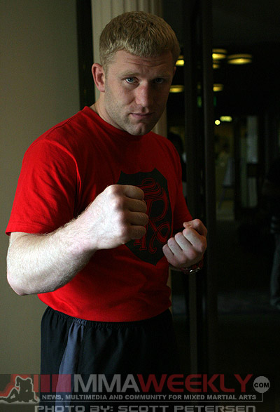 Russian fighter Sergei Kharitonov