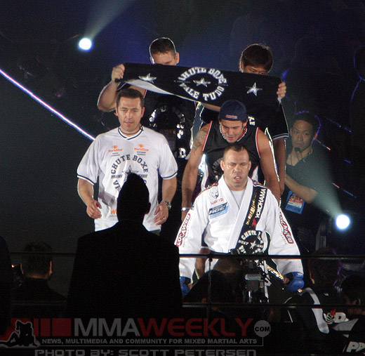 Wanderlei Silva at Pride Grand Prix 2005