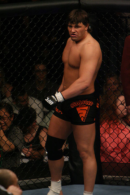 Justin Eilers at UFC 57
