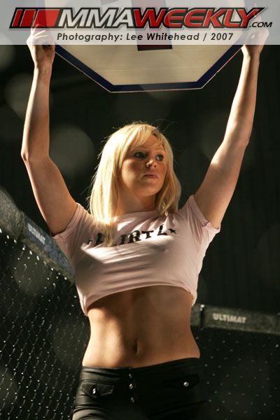 Cage Warriors Ring Girl