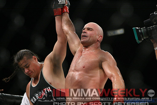 Bas Rutten and Warpath at WFA 4
