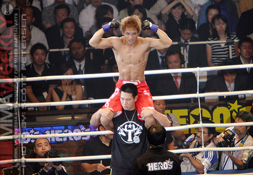 Hideo Tokoro at HERO'S 2