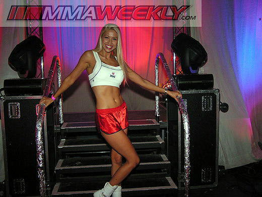 Cage Rage ringgirl