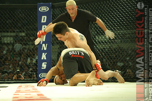Carlos Condit and Charuto Verissimo at Rumble On The Rock 8