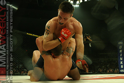 Jake Shields and Dave Menne at Rumble On The Rock 8