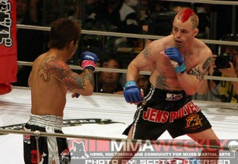Jens Pulver at Bushido 7