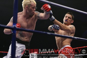 Jens Pulver and Cole Escovedo at IFL