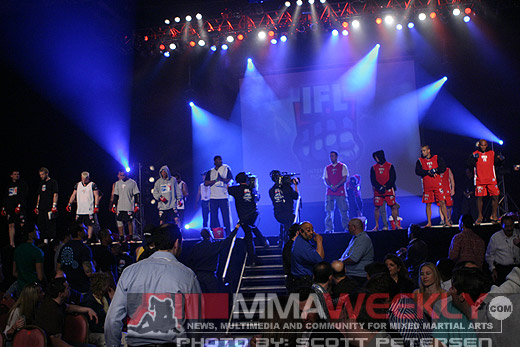 Inaugural IFL event, International Fight League