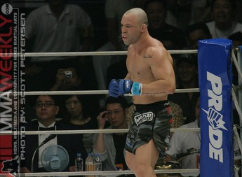 Wanderlei Silva at Pride Open Weight Grand Prix