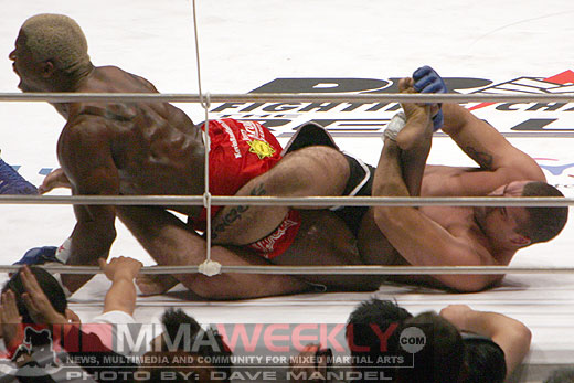 Mauricio Shogun Rua and Kevin Randleman at Pride 32