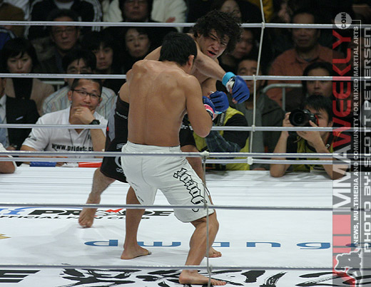 Gilbert Melendez and Kawajiri at Pride Shockwave 2006