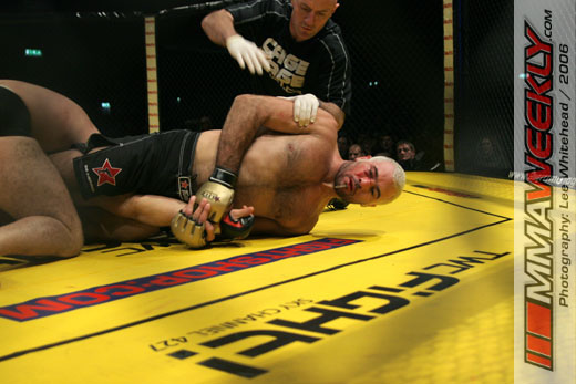 Sinosec and Epstein at Cage Rage 19