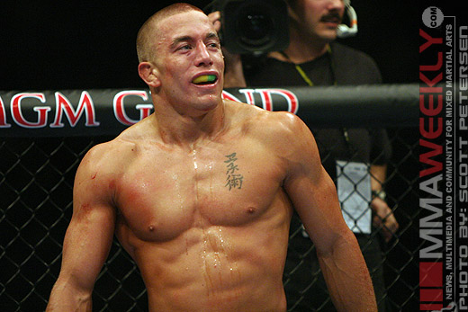 Georges St. Pierre at UFC 52